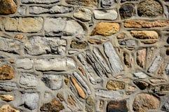 Ο αρχαίος τοίχος με τους βράχους Στοκ εικόνα με δικαίωμα ελεύθερης χρήσης