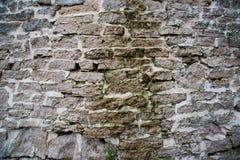 Ο αρχαίος τοίχος του φρουρίου Στοκ εικόνες με δικαίωμα ελεύθερης χρήσης