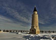 Ο αρχαίος χειμώνας μιναρών της Ταταρίας Στοκ εικόνα με δικαίωμα ελεύθερης χρήσης