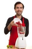 ο αρχιμάγειρας μπλέντερ χύ&n Στοκ φωτογραφίες με δικαίωμα ελεύθερης χρήσης