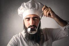 Ο αρχιμάγειρας Στοκ εικόνα με δικαίωμα ελεύθερης χρήσης