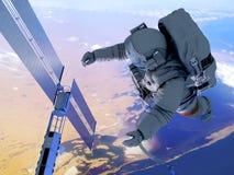 Ο αστροναύτης Στοκ Φωτογραφία