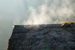 Ο ατμός του παγετού Στοκ εικόνα με δικαίωμα ελεύθερης χρήσης