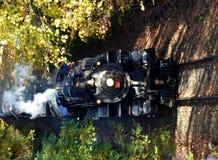 Ο ατμός τροφοδότησε το τραίνο Στοκ εικόνες με δικαίωμα ελεύθερης χρήσης