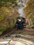 Ο ατμός τροφοδότησε το τραίνο Στοκ Εικόνες