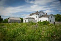 1807 1885 19$ο αυθεντικό κτηρίων αιώνα πόλεων κολπίσκου τοποθετημένο Μισσούρι σπιτιών αγροτικής ιστορίας ημερομηνίας hodge χωριό  Στοκ εικόνες με δικαίωμα ελεύθερης χρήσης
