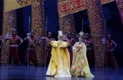 Ο αυτοκράτορας και η βασίλισσα της κουρτίνας δυναστεία-ουρών του Tang: ` Δρόμος ` μεταξιού - επική πριγκήπισσα ` μεταξιού δράματο στοκ φωτογραφία