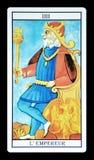 Ο αυτοκράτορας στο tarot διανυσματική απεικόνιση