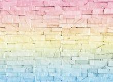 Ο αφηρημένος τοίχος υποβάθρου είναι από τη θαμπάδα εστίασης που γίνεται με το φίλτρο χρώματος κρητιδογραφιών Στοκ Φωτογραφίες