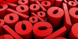 Ο αφηρημένος τρισδιάστατος υπολογιστής υποβάθρου αριθμών που παράγεται δίνει Στοκ Φωτογραφία