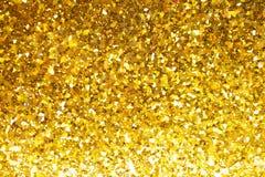 Ο αφηρημένος χρυσός ακτινοβολεί υπόβαθρο Στοκ Εικόνες