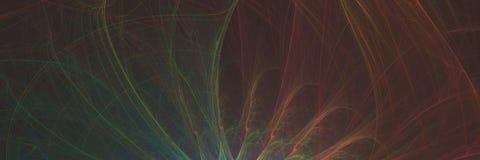 Ο αφηρημένος fractal υπολογιστής γραμμών χρώματος φαντασίας παρήγαγε γραφικό Ελεύθερη απεικόνιση δικαιώματος