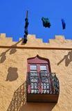 ο αφρικανικός Βορράς σπιτιών παραδοσιακός Στοκ φωτογραφία με δικαίωμα ελεύθερης χρήσης