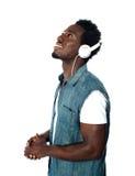 ο αφρικανικός τύπος έχασε το μουσικό κόσμο Στοκ Εικόνες