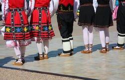 Ο λαϊκός χορός παρουσιάζει στοκ φωτογραφία με δικαίωμα ελεύθερης χρήσης