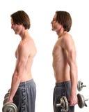 Ο αλτήρας απαξιεί την άσκηση Στοκ φωτογραφία με δικαίωμα ελεύθερης χρήσης