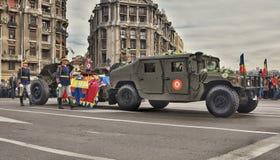 Ο βασιλιάς Michael Ι της Ρουμανίας είναι στον τελευταίο δρόμο στοκ εικόνες