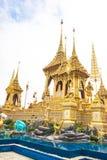 Ο βασιλικός νεκρικός βασιλιάς Rama πυρών ο 9ος της Ταϊλάνδης στοκ φωτογραφίες με δικαίωμα ελεύθερης χρήσης