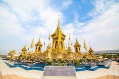 Ο βασιλικός νεκρικός βασιλιάς Rama πυρών ο 9ος της Ταϊλάνδης στοκ φωτογραφίες
