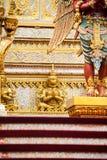 Ο βασιλικός νεκρικός βασιλιάς Rama πυρών ο 9ος της Ταϊλάνδης στοκ εικόνα