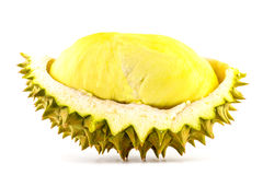 Ο βασιλιάς των φρούτων, durian που απομονώνεται στο άσπρο υπόβαθρο, durian είναι δύσοσμα φρούτα Στοκ Εικόνες