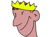 Ο βασιλιάς Στοκ εικόνα με δικαίωμα ελεύθερης χρήσης