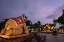 Ο βασιλιάς Taksin αποβαθρών μουσείων ο μεγάλος Στοκ Φωτογραφίες