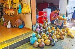 Ο βιοτέχνης στην εργασία, Antalya Στοκ εικόνα με δικαίωμα ελεύθερης χρήσης
