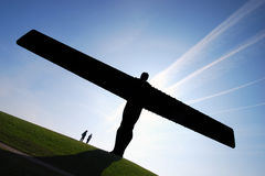 ο Βορράς αγγέλου Στοκ φωτογραφία με δικαίωμα ελεύθερης χρήσης
