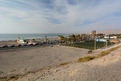 ο Βορράς παραλιών Arica Χιλή Στοκ εικόνα με δικαίωμα ελεύθερης χρήσης
