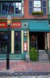 ο Βορράς τελών της Βοστώνης Στοκ φωτογραφία με δικαίωμα ελεύθερης χρήσης