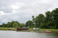 Ο Βορράς Devon UK Barnstaple Στοκ φωτογραφίες με δικαίωμα ελεύθερης χρήσης