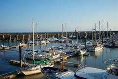 Ο Βορράς Devon UK Watchet Στοκ φωτογραφία με δικαίωμα ελεύθερης χρήσης