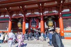 Ο βουδιστικός ναός Senso-senso-ji είναι το σύμβολο Asakusa Στοκ φωτογραφίες με δικαίωμα ελεύθερης χρήσης