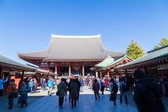 Ο βουδιστικός ναός Senso-senso-ji είναι το σύμβολο Asakusa Στοκ φωτογραφία με δικαίωμα ελεύθερης χρήσης