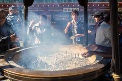 Ο βουδιστικός ναός Senso-senso-ji είναι το σύμβολο Asakusa Στοκ Εικόνες