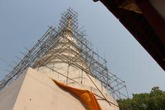 Ο βουδιστικός ναός χτίζει Στοκ Φωτογραφία