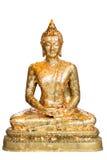 ο Βούδας απομόνωσε την πε Στοκ Εικόνες