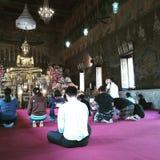 Ο Βούδας ευλόγησε το βουδισμό Στοκ Εικόνες
