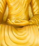 Ο Βούδας στην κίτρινη τήβεννο Στοκ Εικόνες