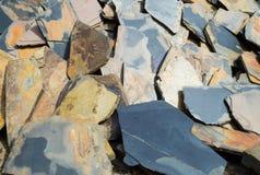 Ο βράχος αποβλήτων Στοκ Εικόνες