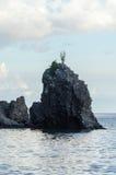Ο βράχος, St. Kitts Στοκ Φωτογραφίες