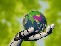 Ο βραχίονας ρομπότ Στοκ εικόνα με δικαίωμα ελεύθερης χρήσης