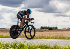 Ο βρετανικός ποδηλάτης Froome Christopher Στοκ φωτογραφία με δικαίωμα ελεύθερης χρήσης