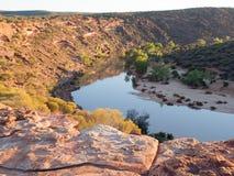 Ο βρόχος, εθνικό πάρκο Kalbarri, δυτική Αυστραλία Στοκ φωτογραφίες με δικαίωμα ελεύθερης χρήσης