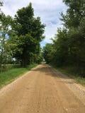 Ο βρώμικος δρόμος στοκ φωτογραφία