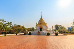Ο βόρειος ναός της Ταϊλάνδης Στοκ φωτογραφία με δικαίωμα ελεύθερης χρήσης