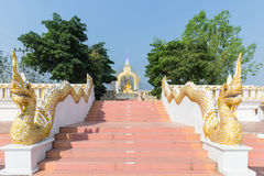 Ο βόρειος ναός της Ταϊλάνδης Στοκ Φωτογραφία
