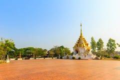 Ο βόρειος ναός της Ταϊλάνδης Στοκ εικόνα με δικαίωμα ελεύθερης χρήσης