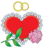 Ο γάμος μας 013 Στοκ Εικόνες